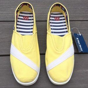 West Marine Women's Cruising Flat Loafers Yellow 9